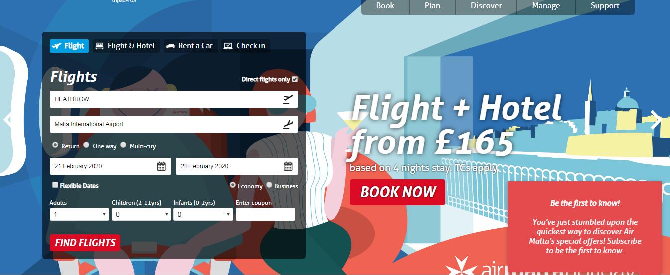 Malta Air - ShopBack