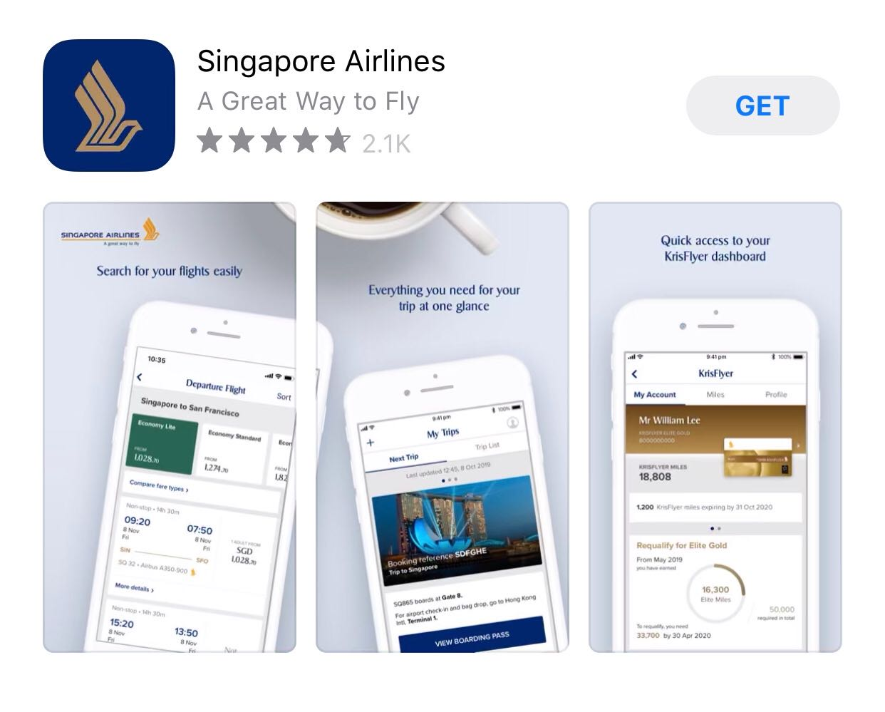 Singapore Airlines - ShopBack