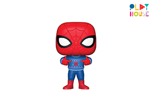 Pop! Marvel : Holiday! – Spider-Man With Ugly Sweater