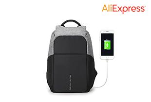 Multifunction USB charging Men 15inch Laptop Backpacks