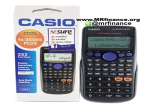 ส่วนลด ช้อปปี้ เครื่องคิดเลขวิทยาศาสตร์ Casio Fx-350ES Plus ลดราคาพิเศษ เหลือเพียง 379 บาท เท่านั้น