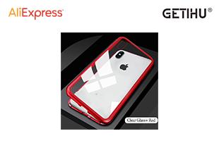 เคสมือถือใส GETIHU iPhone XR XS MAX X 8 Plus 7