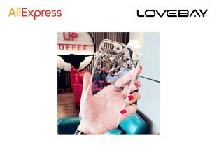 เคสมือถือใสรูปเพชร Lovebay iPhone 6 6s 7 8 Plus X XR XS Max
