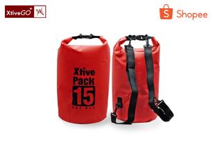 กระเป๋ากันน้ำ กันฝุ่น 3 ขนาด 2/10/15 ลิตร 3 สี น้ำเงิน ฟ้า แดง