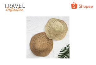 หมวกสานสไตล์เกาหลี (B502-61)