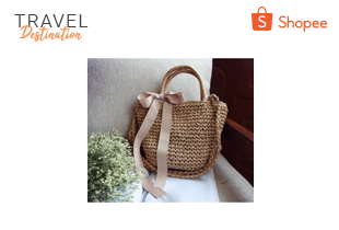 Travel Week: กระเป๋าสาน Soft Round เริ่มต้น 140 บาท