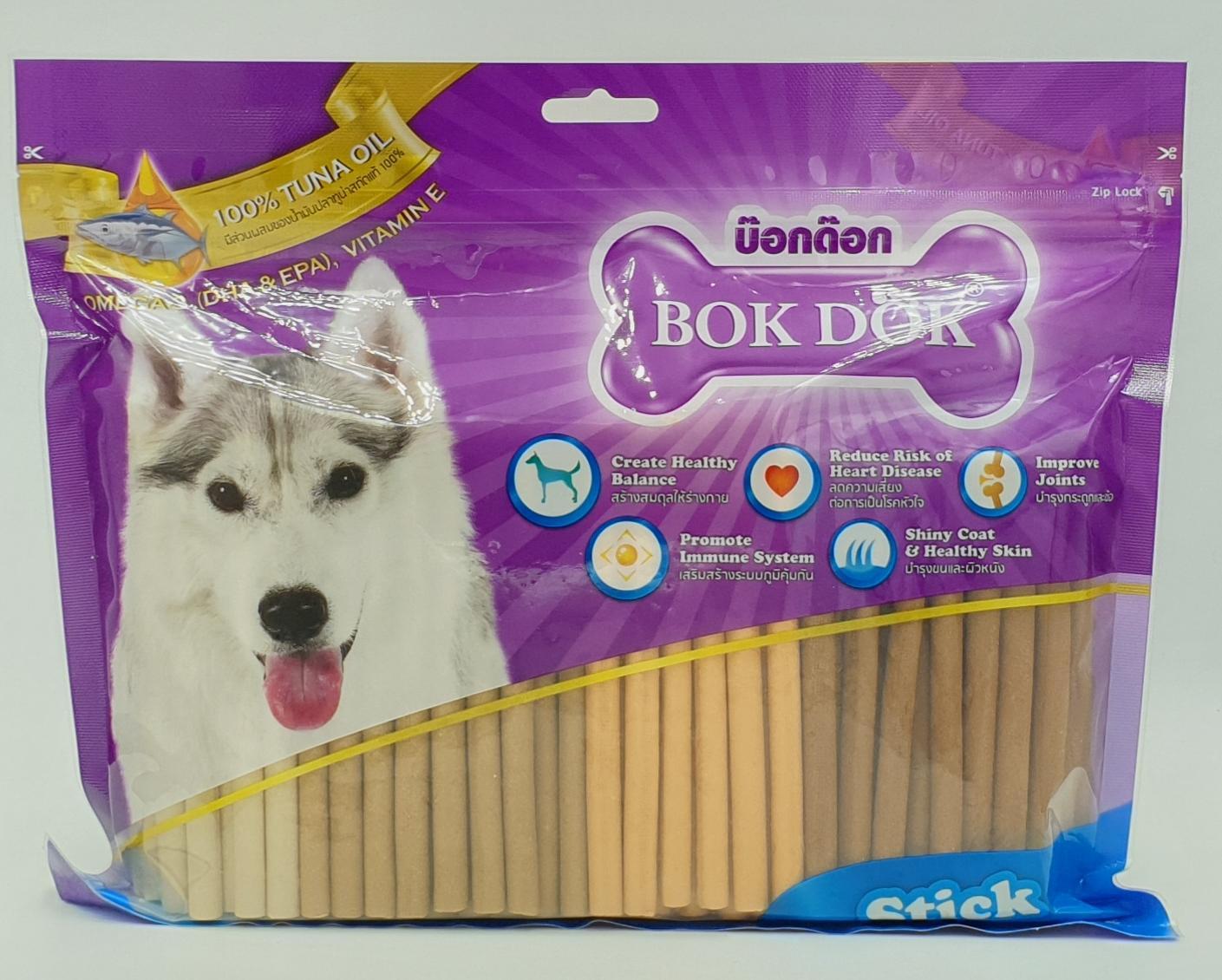 ส่วนลด Lazada ลดถึง22% สำหรับผลิตภัณฑ์ Bokdok Stick ขนมสำหรับน้องหมารวมรส 1กิโล