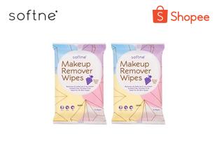 Softne' Makeup Remover Wipes (แพ็ค 2)