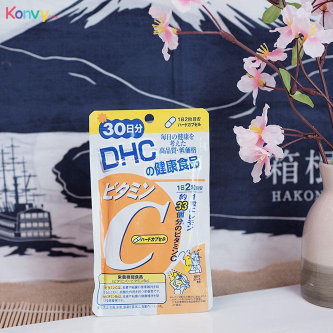 ส่วนลด konvy DHC-Supplement Vitamin C ผลิตภัณฑ์เสริมอาหารวิตามินซี จากประเทศญี่ปุ่น เหลือเพียง 190฿