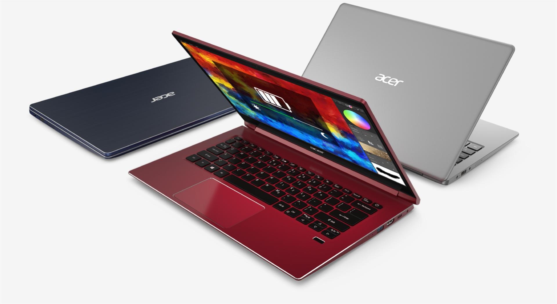 Notebook Acer Swift น้ำหนักเบาพกพาสะดวก Advice Promotion เหลือเพียง 12,790฿