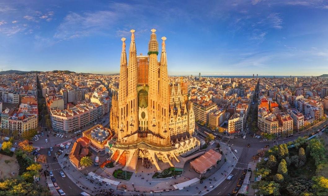 เที่ยวบาร์เซโลน่า ประเทศสเปน โค้ด rental cars เช่ารถขับชมวิว ราคาสำหรับ 3 วัน เพียง 1357.61฿