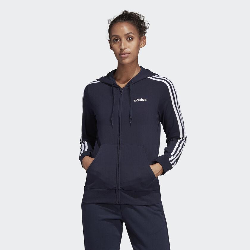 ESSENTIALS 3-STRIPES HOODIE คูปองส่วนลด Adidas รับเงินคืนหลังการซื้อผ่าน ShopBack 6%