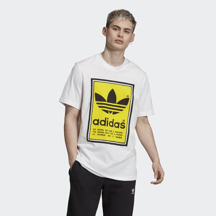 เสื้ออาดิดาส FILLED LABEL TEE โปรโมโค้ด Adidas ราคาเพียง 1,000฿ พร้อมรับเงินคืนจาก ShopBack สูงสุดอีก 6%