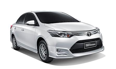 โปรโมชั่น Rental cars ให้เช่ารถออนไลน์ ขนาดกลาง 4 ที่นั่ง 4 ประตู ด้วยราคาเพียง 2190 บาท