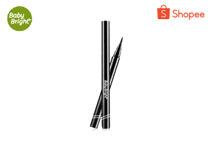 Baby Bright Slim Line Black Charcoal Pen Eyeliner