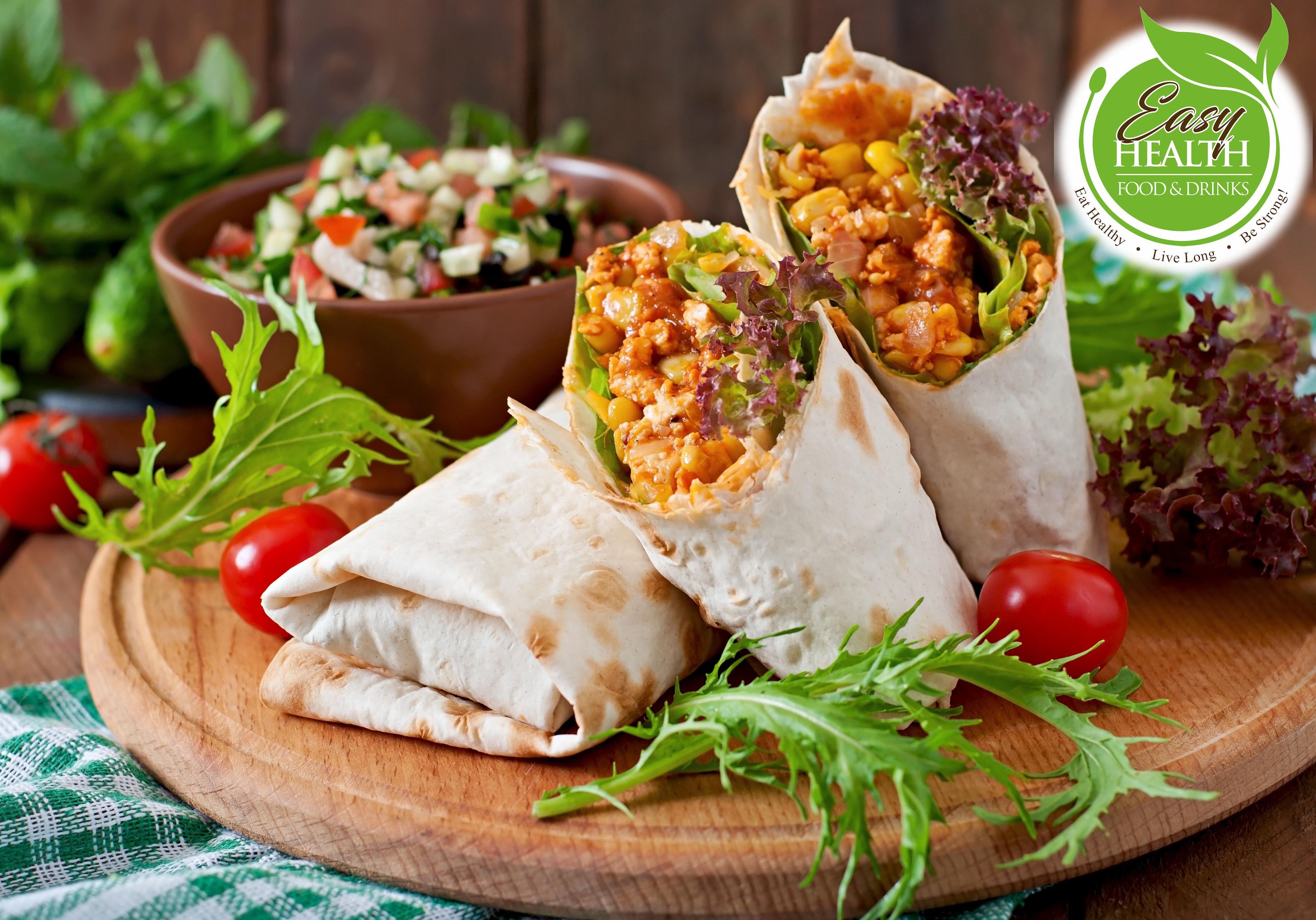 ร้านอาหาร Easy Health ร่วมกับโปรโมชั่น Foodpanda ส่งฟรีทุกรายการเมนู