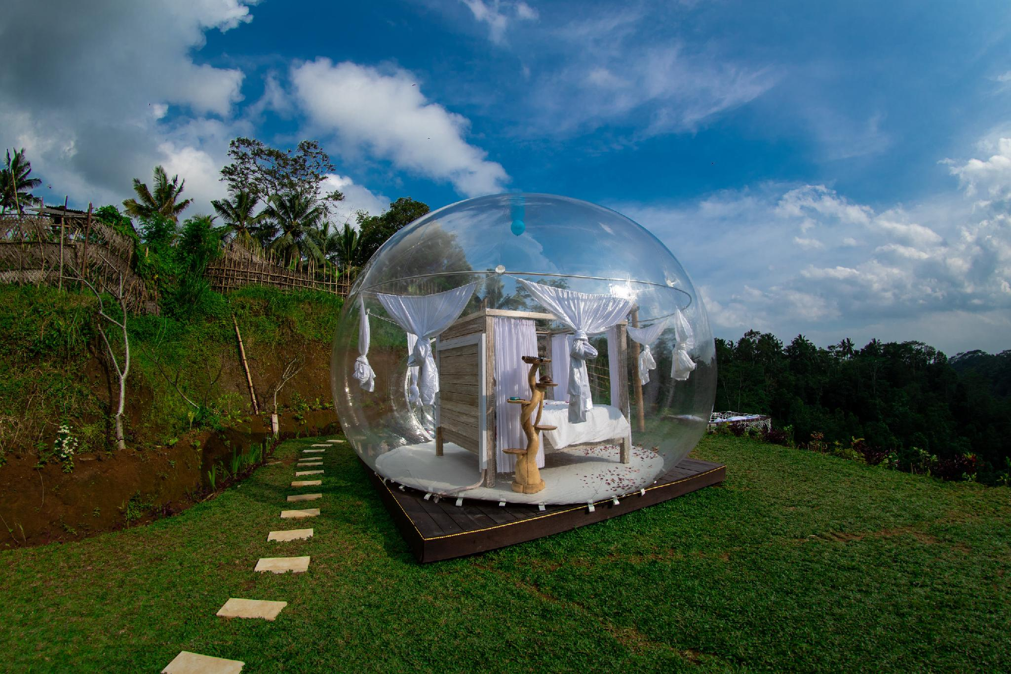 โรงแรม Romantic Bubble Dome Ubud ที่พักยอดนิยมมาพร้อมโปรโมชั่น Agoda ในราคาสุดพิเศษ ที่ลดถึง 20%
