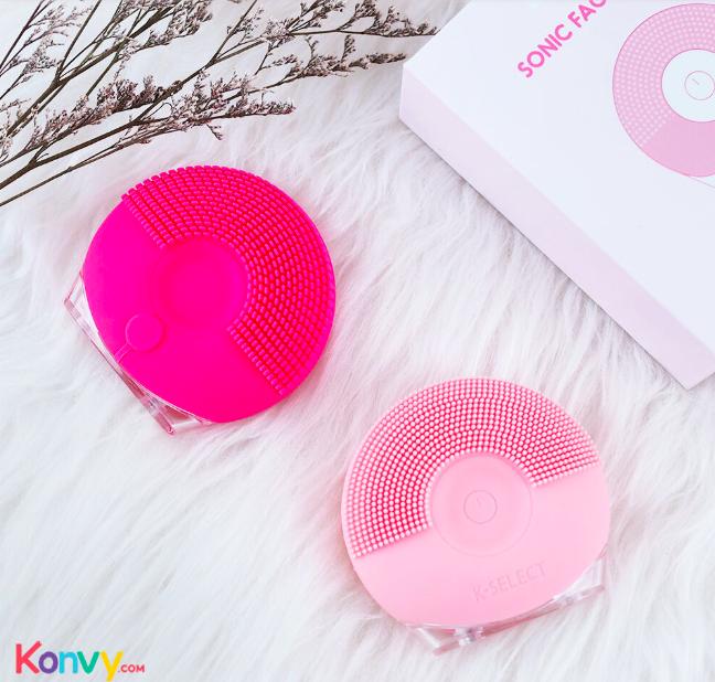 คอนวี่ ลดราคาสินค้าขายดีอย่าง K-Select Sonic Face Cleaner ที่ทำความสะอาดผิวหน้า เหลือราคาเพียง 559 บาท