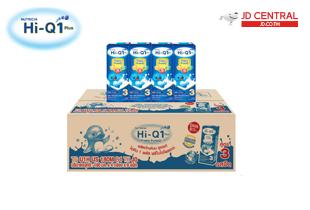 ไฮคิว (Hi-Q) 1พลัส นมยูเอชที รสจืด 180 มล. แพ็ค 36 กล่อง Plain