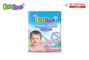 เบบี้เลิฟ (BabyLove) พาวเวอร์ แพ้นส์ เฟรช แอนด์ ดราย กางเกงผ้าอ้อมเด็กสำเร็จรูป แพ็คจัมโบ้