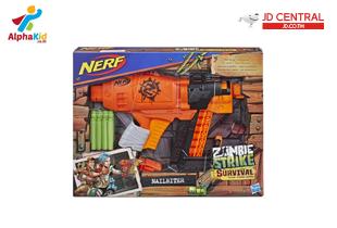 Nerf Zombie Strike Survival System Nailbiter Blaster NFE2672
