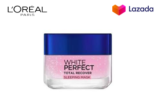 [BEST SELLING] L'OREAL PARIS WHITE PERFECT TOTAL RECOVER SLEEPING MASK 50ml