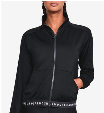 ห้ามพลาดสินค้า UNDER ARMOUR Heatgear Full Zip เสื้อแจ็คเก็ตวิ่งผู้หญิง ลดราคาถึง 50%