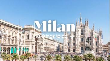 เมือง milan มีโรงแรมและที่พักกว่า 1,610 แห่งพร้อม 385 ตัวเลือกสุดคุ้ม