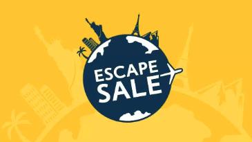 โปรโมชันจาก Expedia ที่มีส่วนลด Escape Sale ที่ลดกระหน่ำทั่วโลก