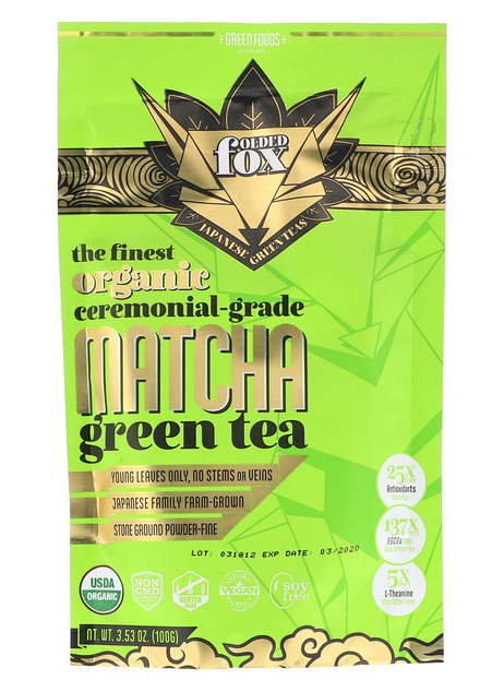 ส่วนลด iherb สำหรับ Organic Matcha Green Tea, ขนาด 100 g ลดราคาเหลือเพียง 674.15 บาท!