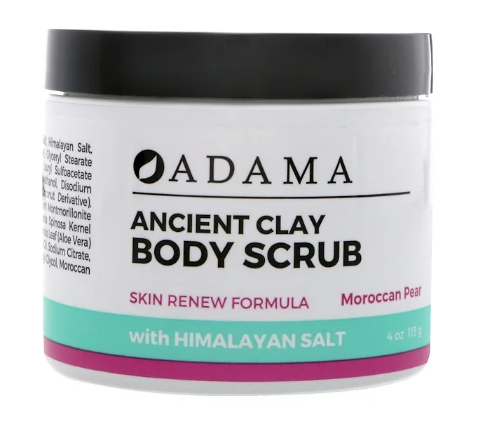 Ancient Clay Body Scrub กลิ่น Moroccan Pear ขนาด 113 g จาก iherb ลดราคา 15% เหลือกระปุกเพียง 445.73 บาท