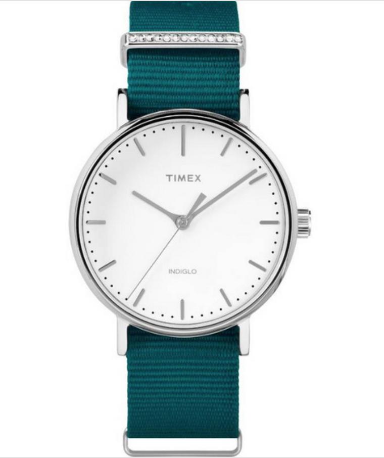 นาฬิกาข้อมือผู้หญิง Timex สีน้ำตาล, สีเขียว ลดแรง! เหลือราคาเลือนละ 1,916 บาท