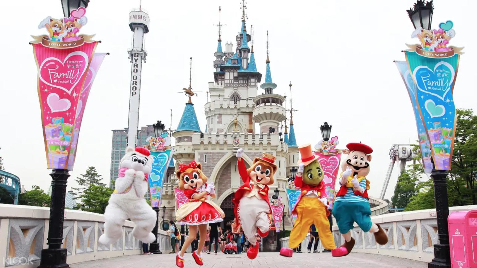 ความสนุกกำลังจะเริ่ม ที่ Lotte World ในราคาเพียง 801 บาทเท่านั้น!