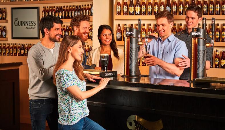 คอเบียร์ห้ามพลาดบัตรเข้าชมพิพิธภัณฑ์เบียร์กินเนสส์ (Guinness Storehouse) ราคาเพียง 840 บาท