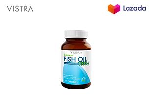 Vistra Salmon Fish Oil (75 Tablets) - วิสทร้า น้ำมันปลาแซลมอน 75 เม็ด