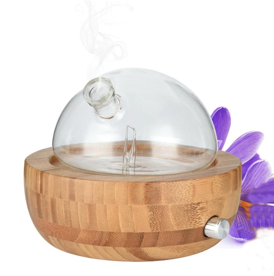 น้ำมันหอมระเหย Bamboo Glass Essential Oil Nebulizer ที่ได้โค้ด Aliexpress ลดให้ถึง 51%