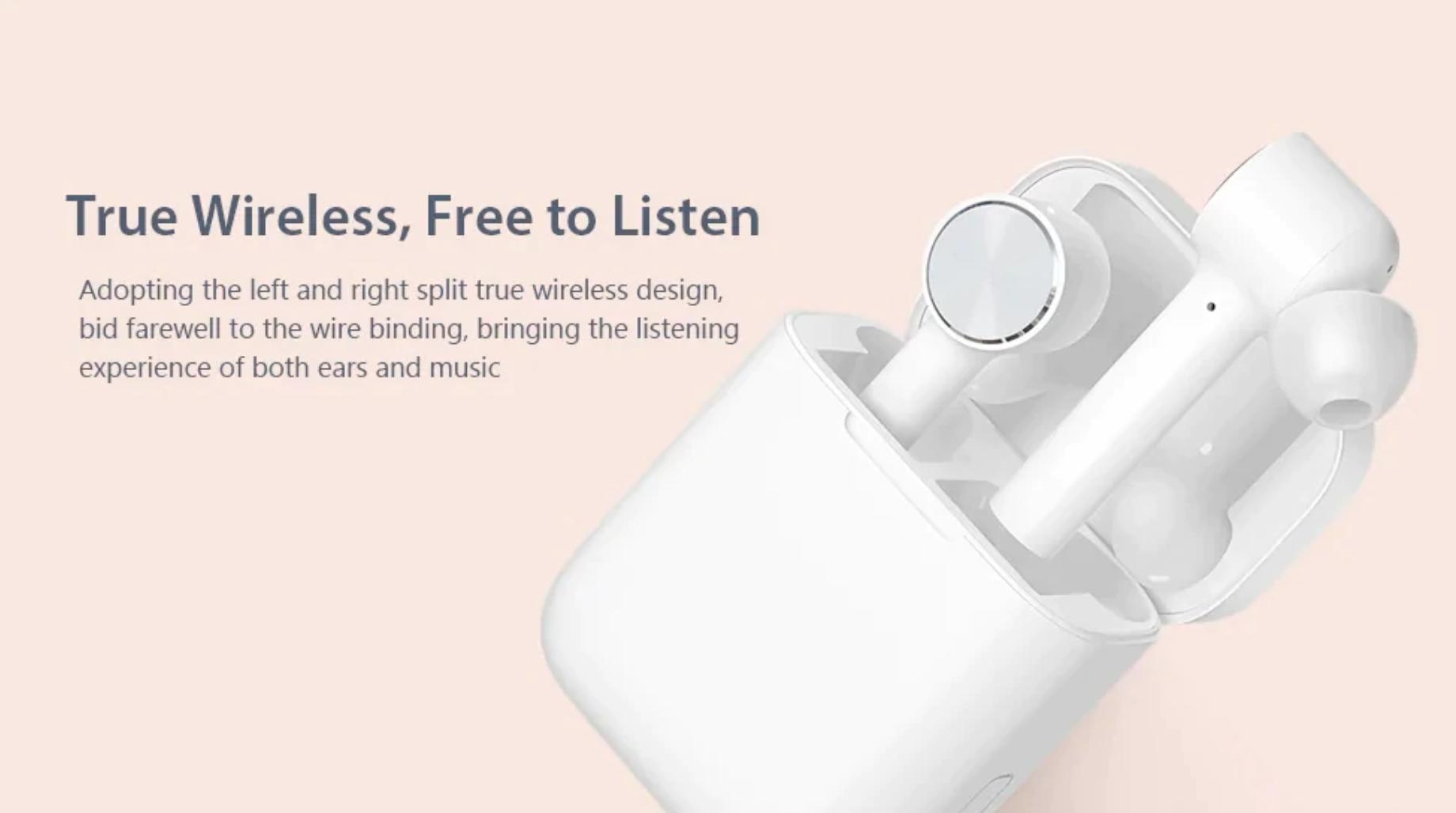 หูฟังบลูทูธจาก Xiaomi ที่ Aliexpress ให้ส่วนลดถึง 31%