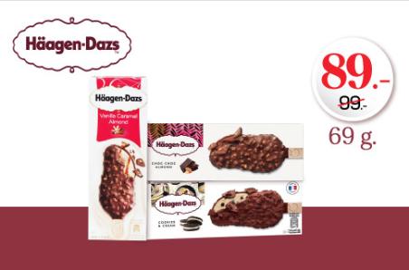 โปรโมชั่น Tops สำหรับ Häagen Dazs ลดจาก 99 บาทเหลือเพียง 89 บาท