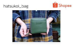 hatsukoi_bag | กระเป๋าสตางค์ซิปรอบใบสั้น เน้นบัตร รุ่น Crepe