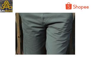 saslifestyles | กางเกงขาสั้นชาย Hertz สีเทาเข้ม