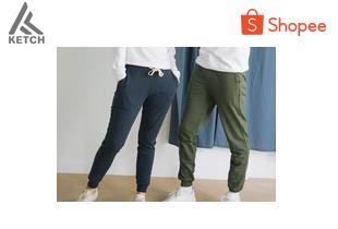 ketch.apparel | SWEATPANTS กางเกงวอร์มขาจั๊ม