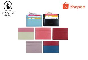 vavia | Vavia Card Holder ซองใส่บัตรหนังวัวแท้ มีช่องใส่บัตร 7 ช่อง ใช้งานทนทาน มีให้เลือก 11 สี