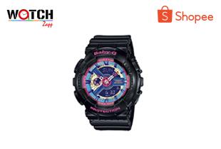 watchzap | นาฬิกาข้อมือ Casio Baby-G BA-110 BA-111 BA-112 BA-110NR BA-110BC BA-110-1A BA-112-1A BA-111-4A2 BA-110-7A1