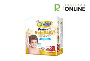 Baby Diapers : Premium Gold Pants Size XL 46 pcs/pack