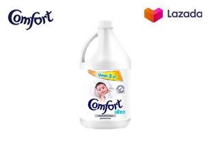 Comfort Pure Fabric Softener White 3300 ml. คอมฟอร์ท เพียว น้ำยาปรับผ้านุ่ม สีขาว 3300 มล.