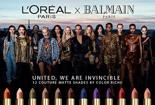 โปรโมชั่น พิเศษจาก Konvy - L'OREAL PARIS x BALMAIN ราคาเดียว 479 บาททุกแท่ง!