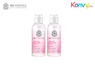 (แพ็คคู่) คลีนซิ่งวอเตอร์ Nu Formula Mineral For Sensitive Skin
