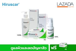 (Set) Hiruscar Pore Purifying Cleanser, Hiruscar Pore Purifying Serum, Hiruscar Anti-Acne Spot Gel