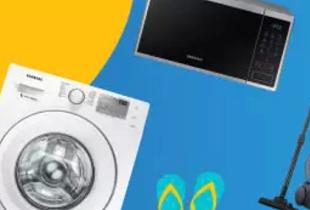 Lazada โปรโมชั่น เครื่องใช้ไฟฟ้า Samsung โค้ดลดเพิ่ม 12% วันนี้ - 24 เมษายน 2561