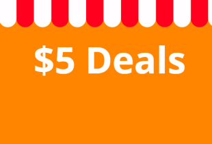 AliExpress มอบส่วนลด สำหรับโปรโมชั่น 5$ Deals สินค้าทุกราคาไม่เกิน 5$